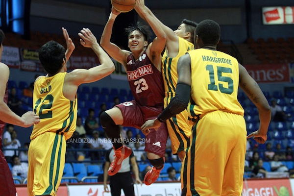 Tata Marata is back in the UAAP playing for the UP Fighting Maroons.