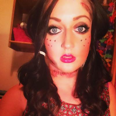 Dead Doll Halloween Dress go Dressed as Dead Dolls