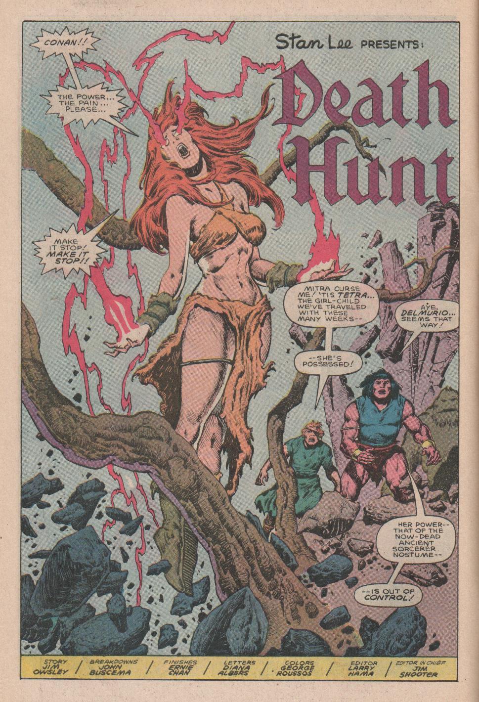 Conan the Barbarian (1970) Issue #178 #190 - English 5
