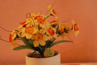 Cukráreň Kitty - umelé kvety