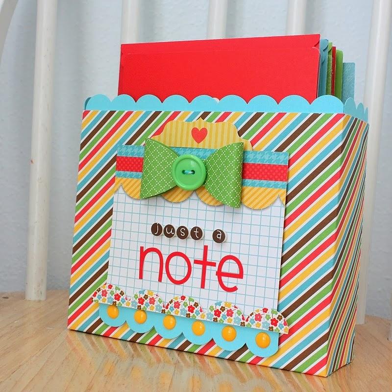 Doodlebug Design Inc Blog Gift Idea Diy Card Box Set By Shellye