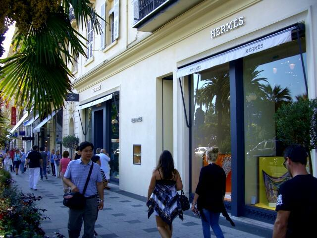 Gay French Riviera: Luxury Shopping in Nice
