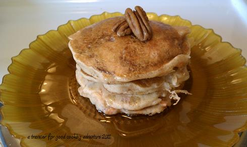 Carrots N Cake Pancake Recipe