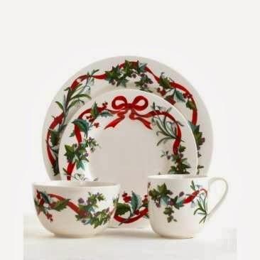Multinotas navidad vajilla de colores y dise os - Vajilla de navidad ...