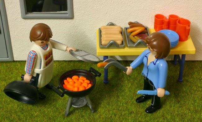 Playmobil barbacoa