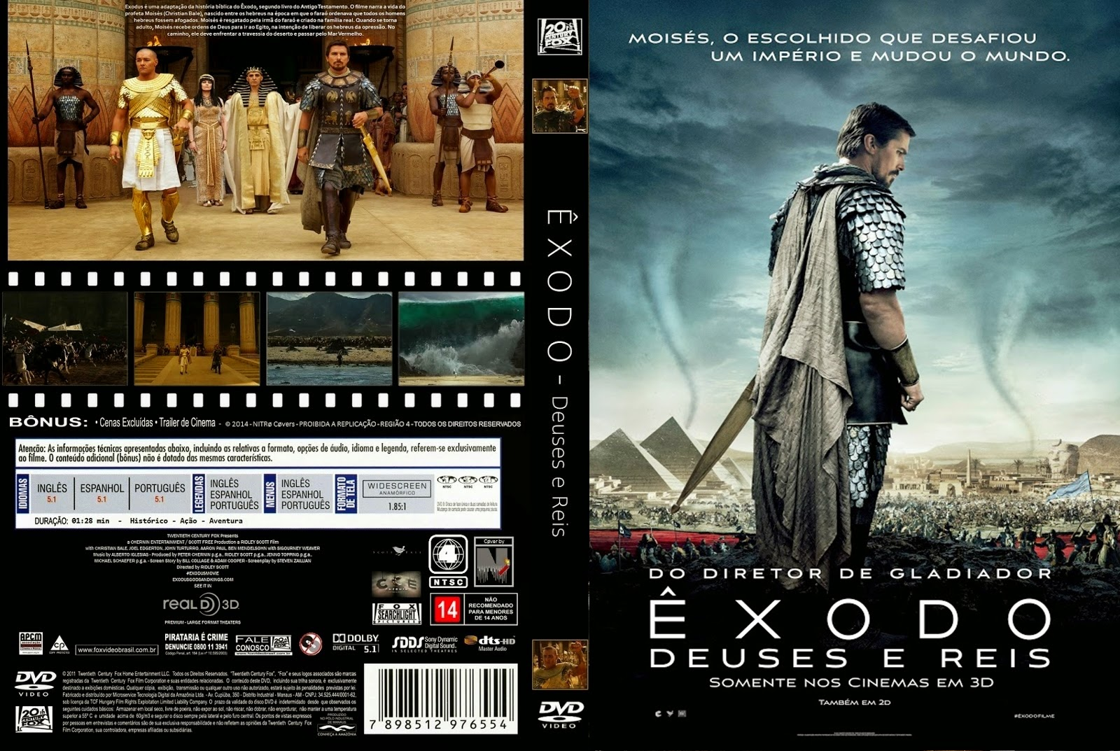 Download Êxodo Deuses e Reis DVDRip XviD Dual Áudio  C3 8Axodo 2B  2BDeuses 2BE 2BReis 2B02
