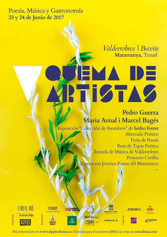 23 y 24 de junio: Quema de artistas (Valderrobres, Teruel)