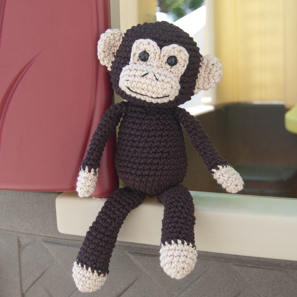 Crochet Amigurumi Spider : The Itsy Bitsy Spider Crochet: Finally - The Monkey!