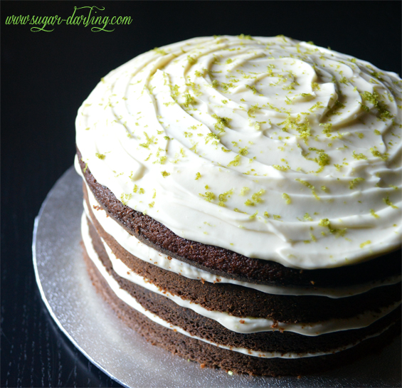 Carrot Cake With Lime Mascarpone Icing Recipe — Dishmaps