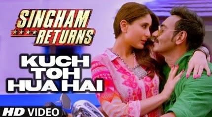 Kuch Toh Hua Hai - Singham Returns (2014) HD Music Video Watch Online