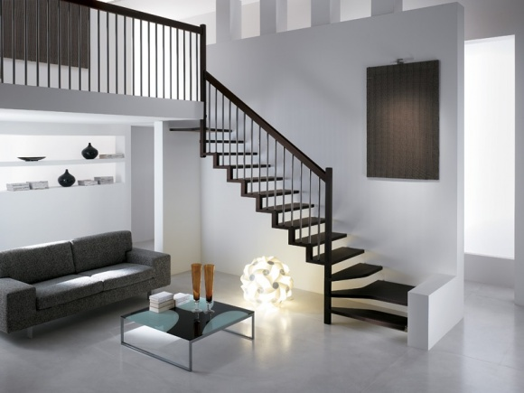 salas con escalera ideas para decorar dise ar y mejorar On escaleras de salas modernas