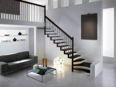 salas con escaleras