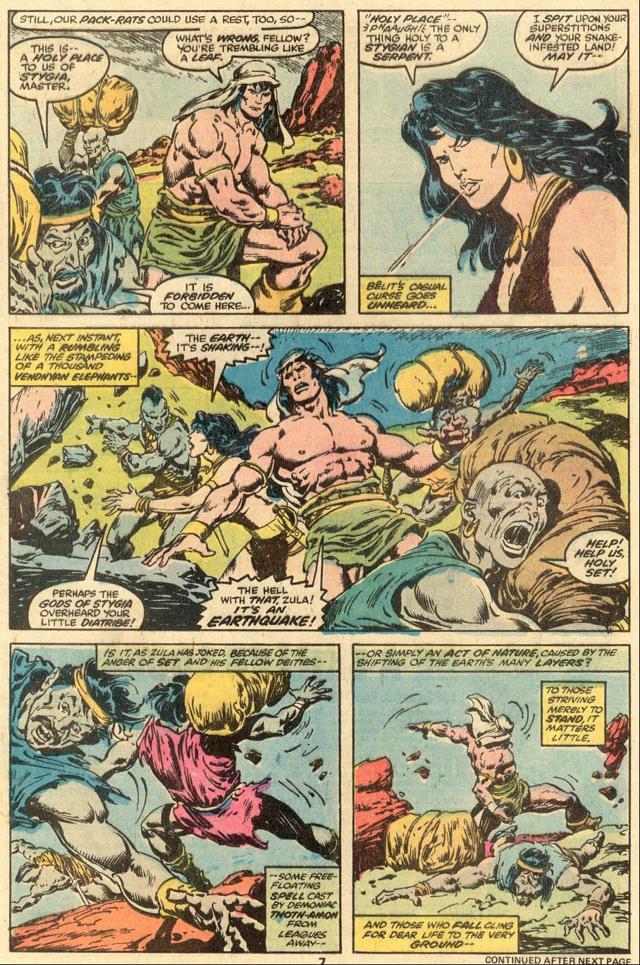 Conan the Barbarian (1970) Issue #90 #102 - English 6