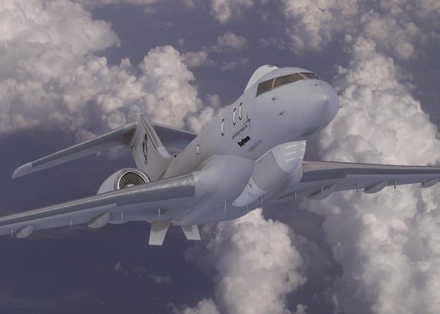 JSTARS Recap business jet platform