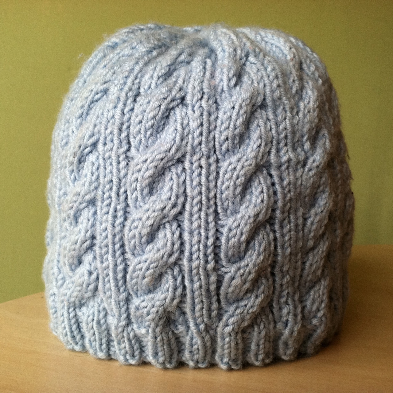 Knitting Pattern Aran Cable Hat : The Yarn Garden Blog: Upcoming Class: Easy Baby Cable Knit Hat