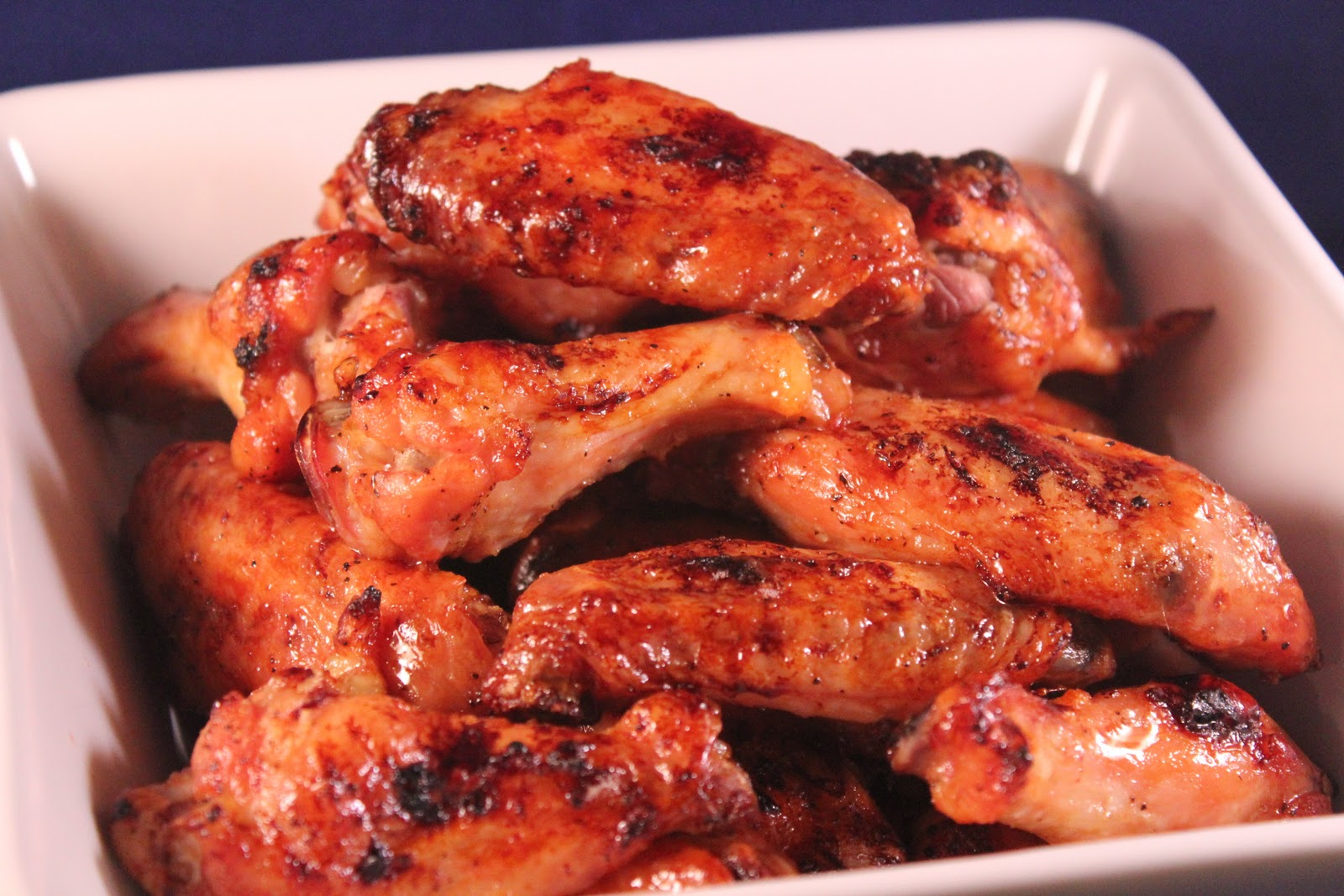 Delicious Dishings: Ginger-Soy-Glazed Wings