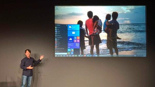 """مايكروسوفت تعلن عن """"ويندوز 10"""""""