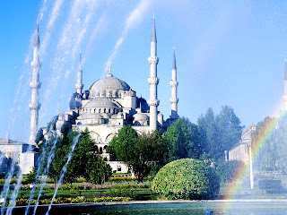 Blue Mosque Turkey Istanbul Landscape HD Wallpaper