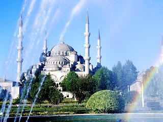 Blue Mosque Turkey Istanbul Landscape HD Wallpaper