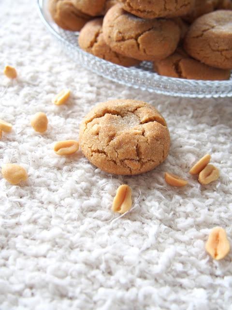 Maapähkinävoi crinkles