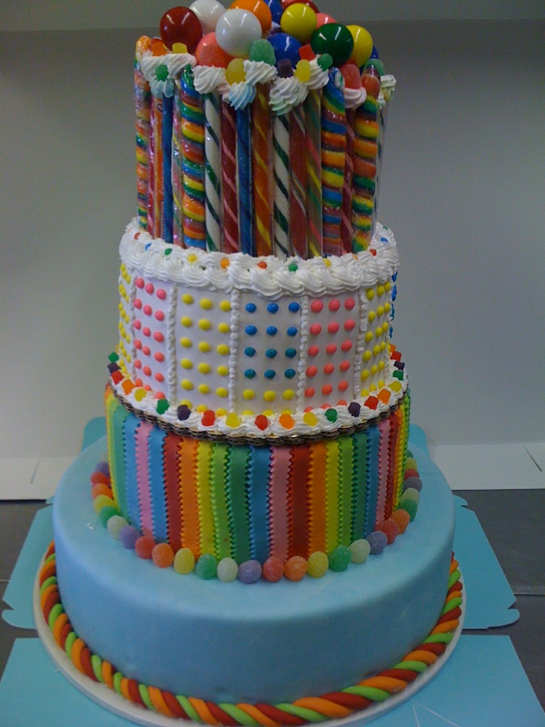Delicious Cakes: Candy Cakes