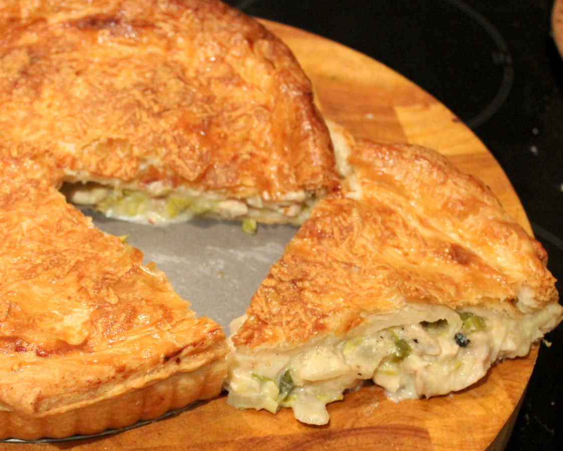 A liberal dose of masala chicken mushroom and leek pie adapted from nigel slaters recipe on bbc foods forumfinder Image collections