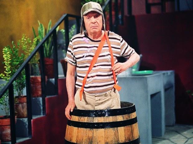 Roberto Bolaños como Chaves (Foto: Divulgação/SBT)