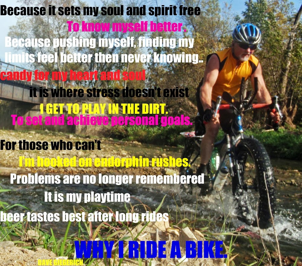 Bicycling Is Proof That God Loves Us And Wants Us  To Have Fun