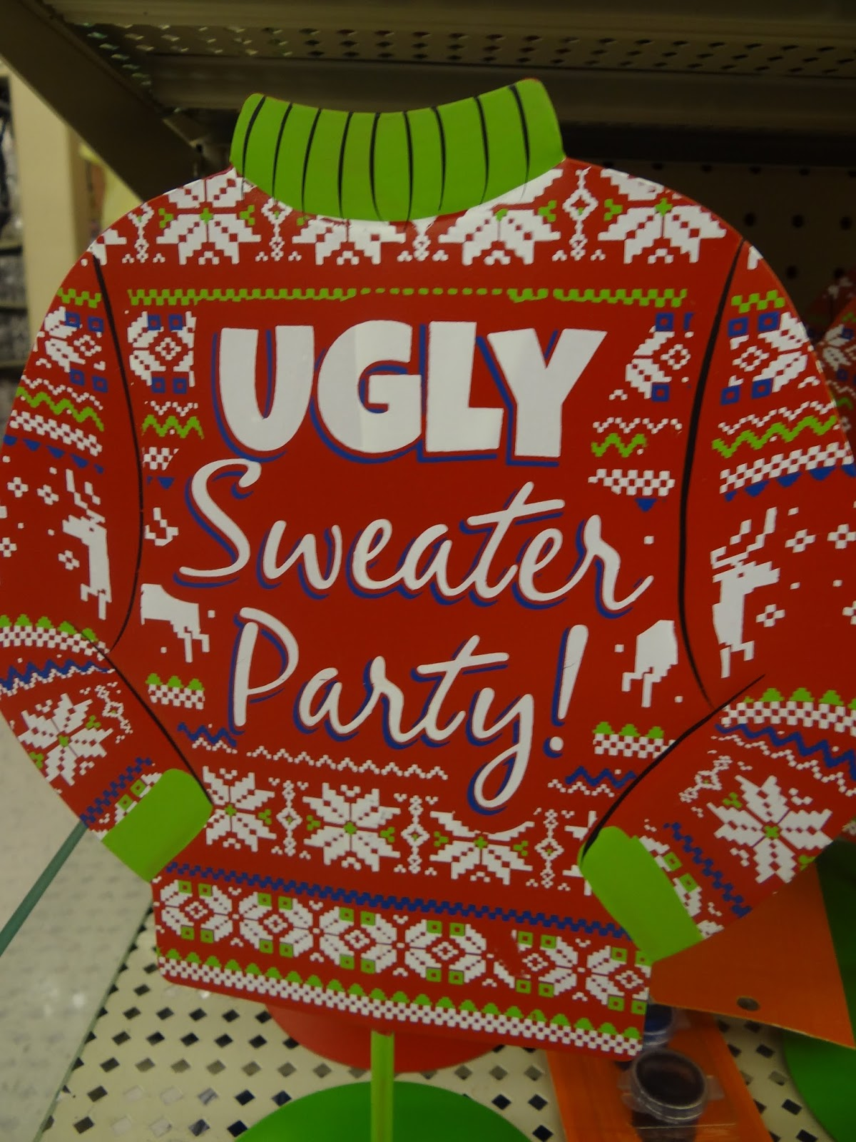 Patties Primary Place: Funny Story and Ugly Sweater Parties