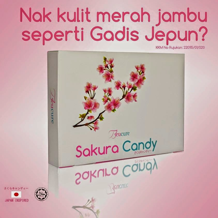 Sakura Candy Untuk Kecantikan Luar Dan Dalam