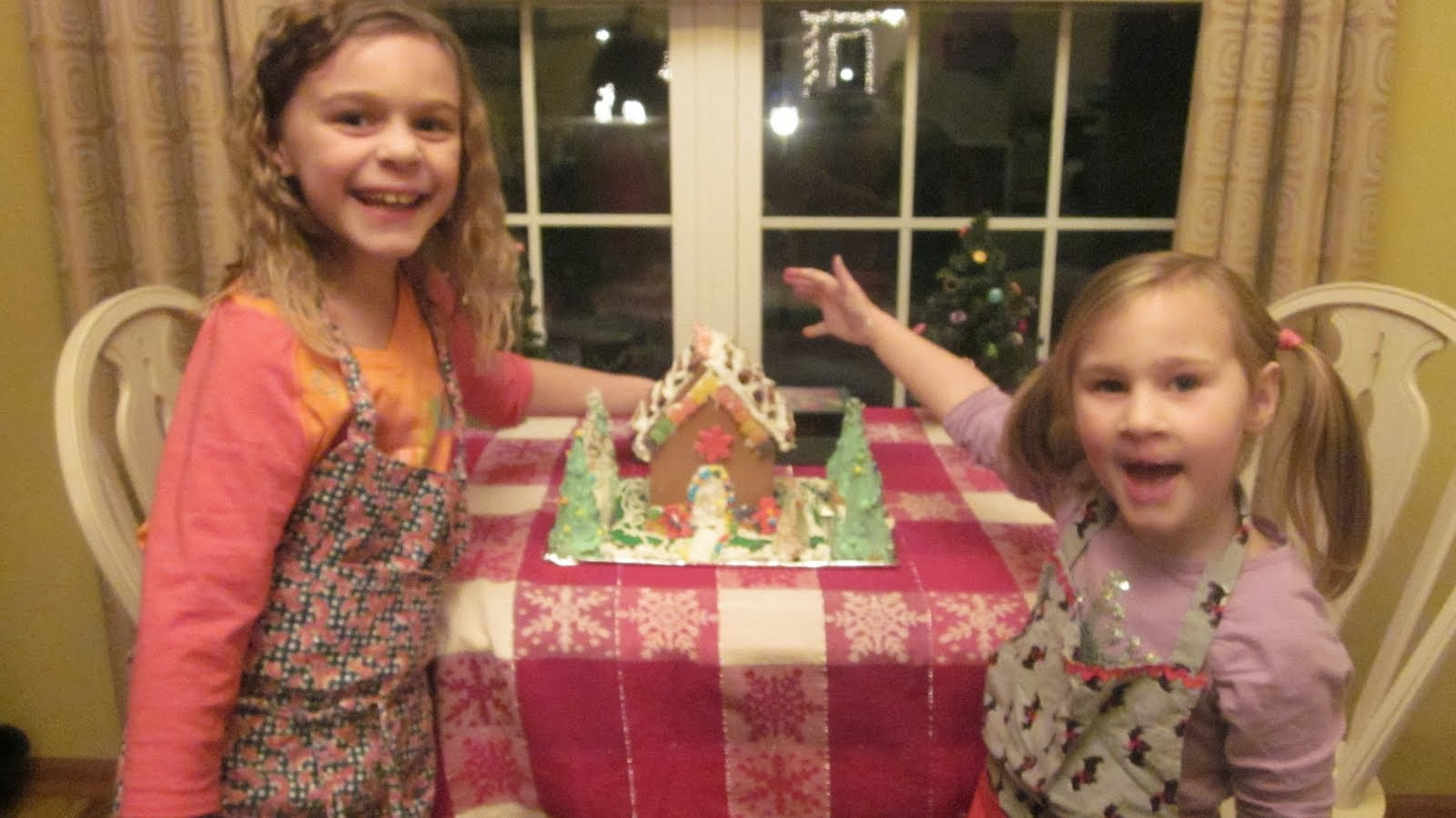 5th Annual Gingerbread House!