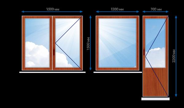 Деревянные окна и двери из Европы