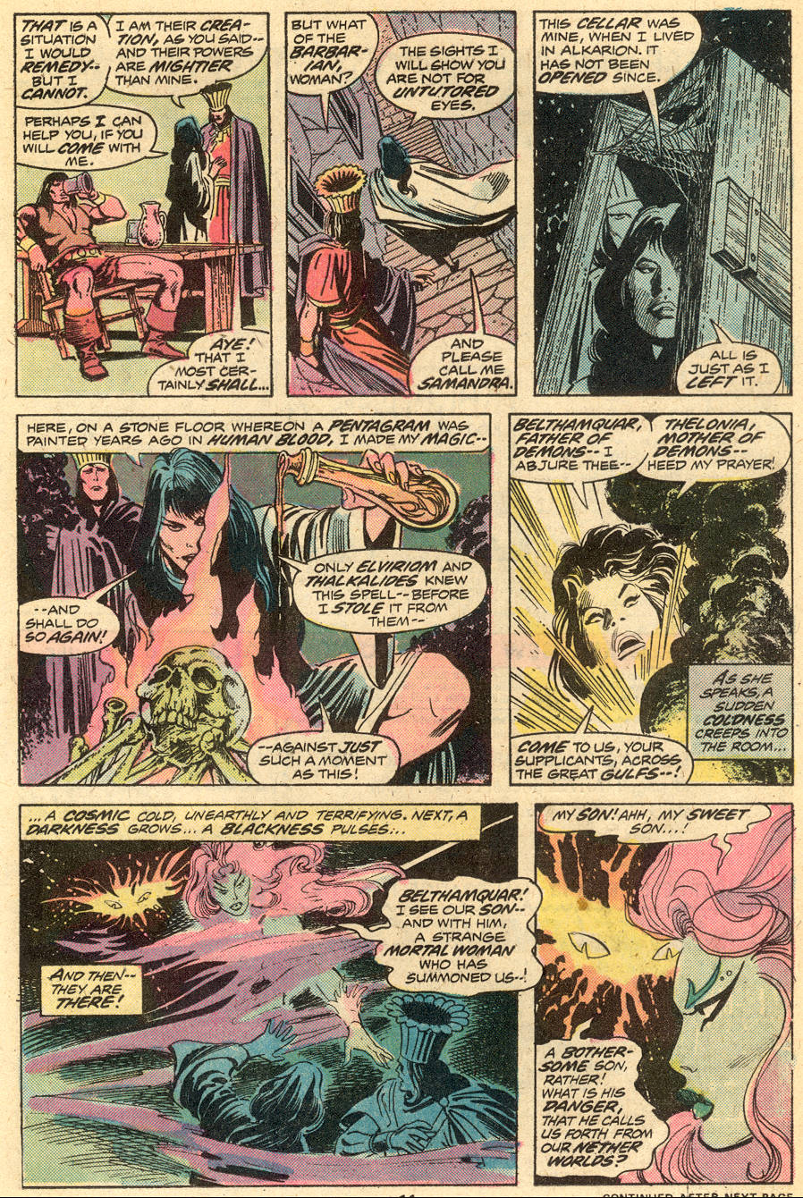 Conan the Barbarian (1970) Issue #51 #63 - English 8