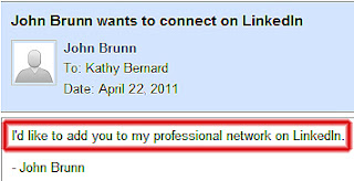 LinkedIn invitation to connect, inviting someone to connect on LinkedIn, growing your LinkedIn network, default LinkedIn invitation message,
