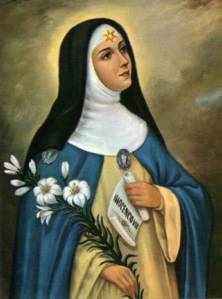 Cultos en honor de Santa Beatriz de Silva