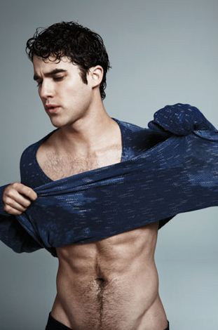 Criss showing us his lean torso