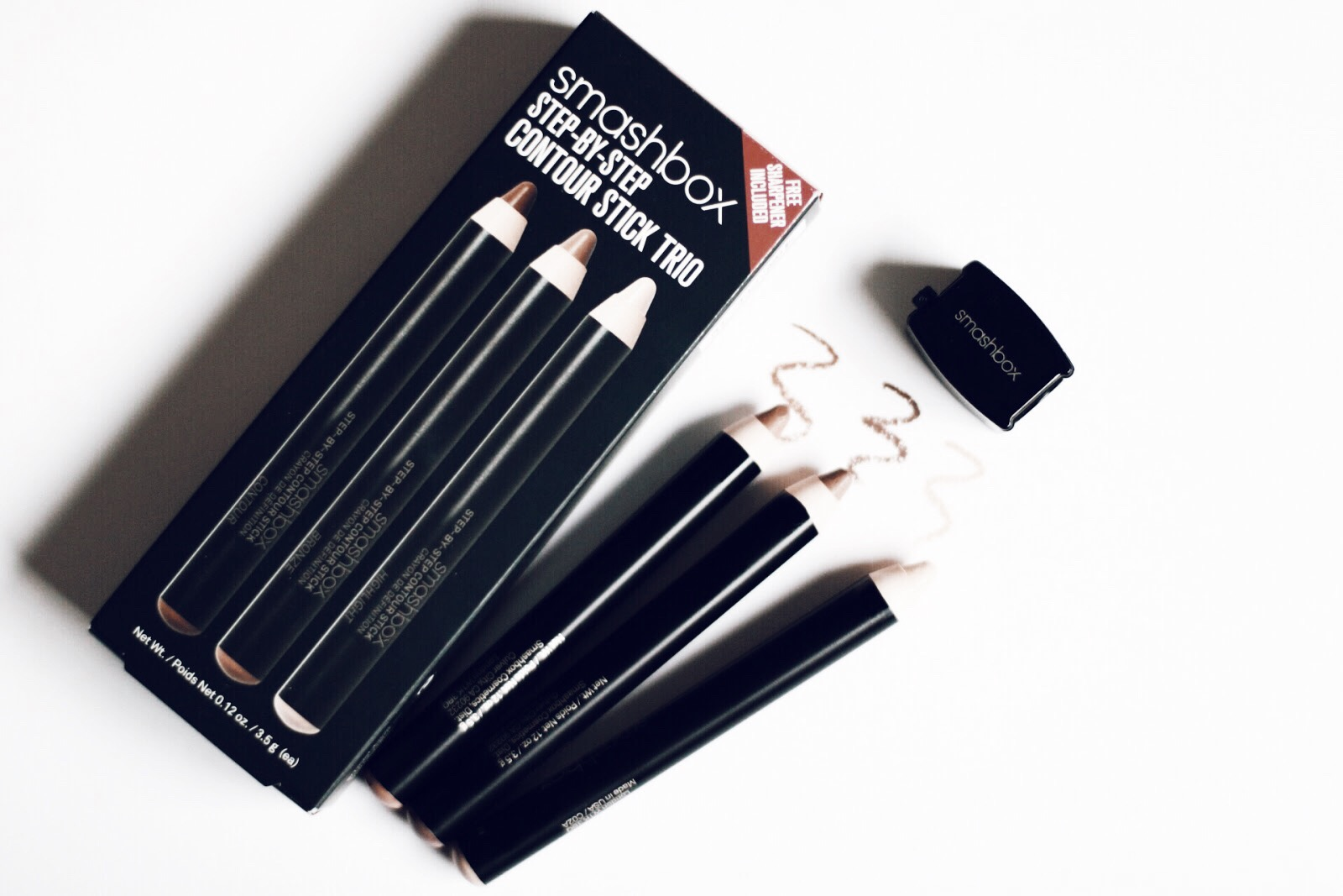 smashbox step by step contouring stick trio avis test