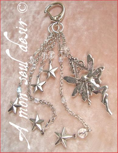 Bijou fée elfique féerique elfe étoile fairy star elven jewel