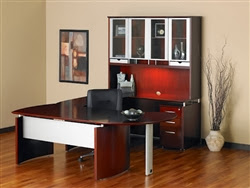 Napolu Modular Executive Desk by Mayline