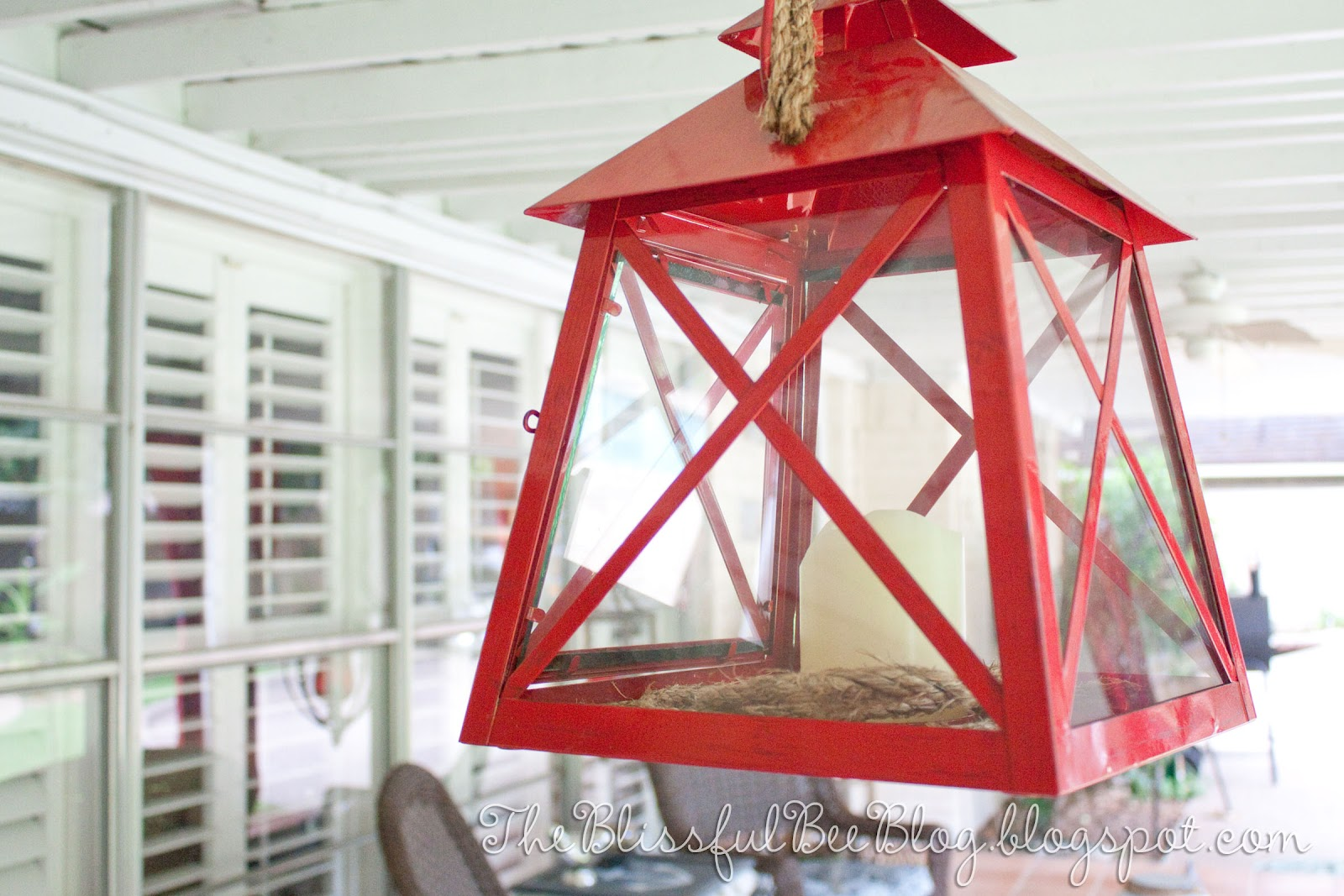 Outdoor Lantern Light Fixture