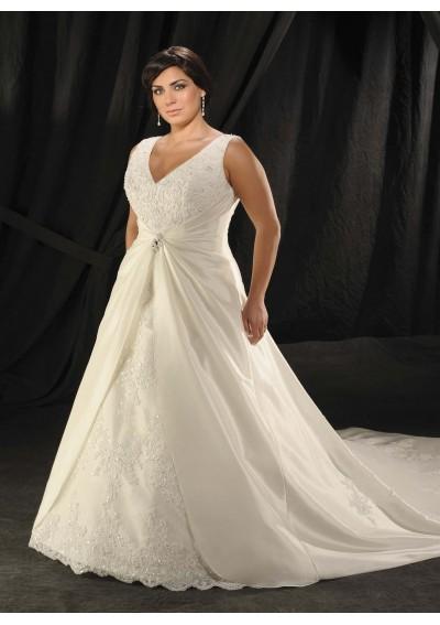 Cheap wedding gowns online blog plus size wedding dresses for Wedding dresses for thick brides