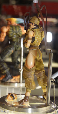 Square Enix Play Arts 2013 Toy Fair Display - Street Fighter Ibuki figure