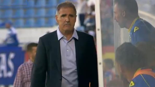 Paco Herrera entrenador de UD Las Palmas