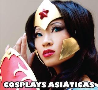 Cosplays de asiáticas