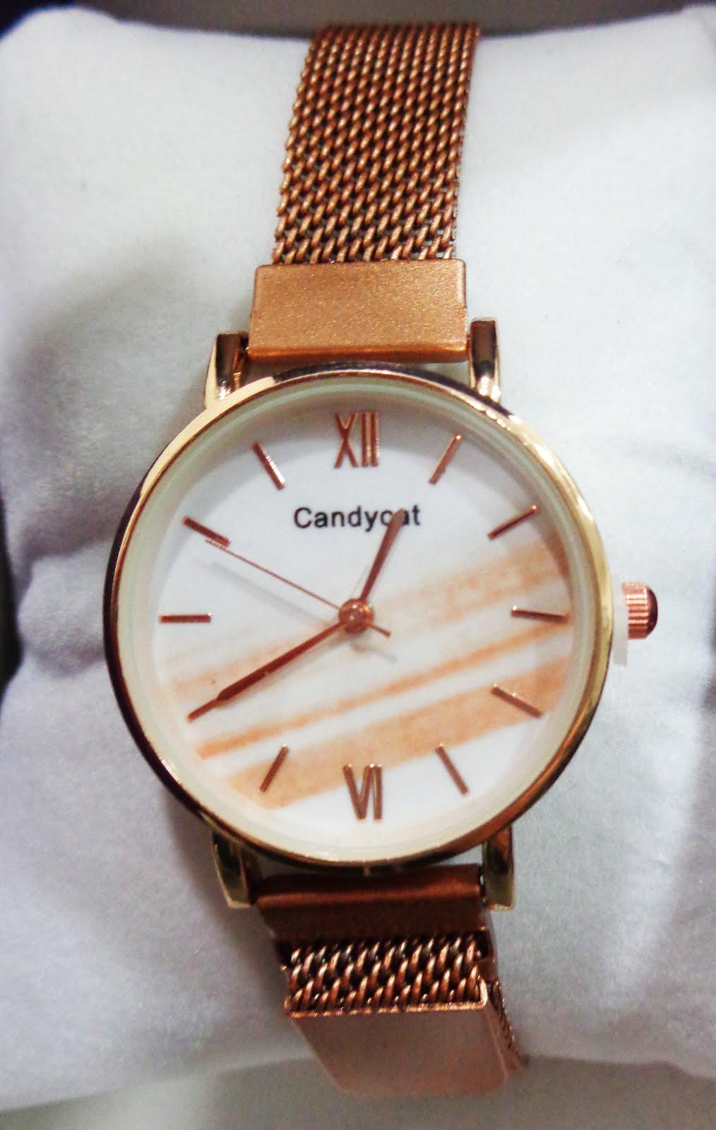 Reloj acero rosa para chica