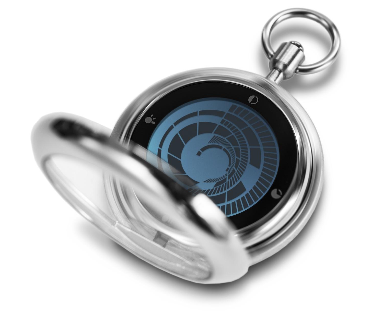 Tokyoflash Kisai Vortex Pocket Watch
