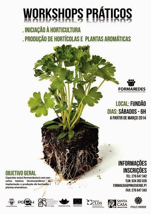 Workshops de horticultura no Fundão – 2014