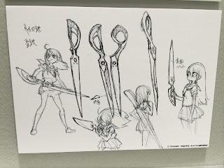 Kill la Kill Scissor Blade Concept Design