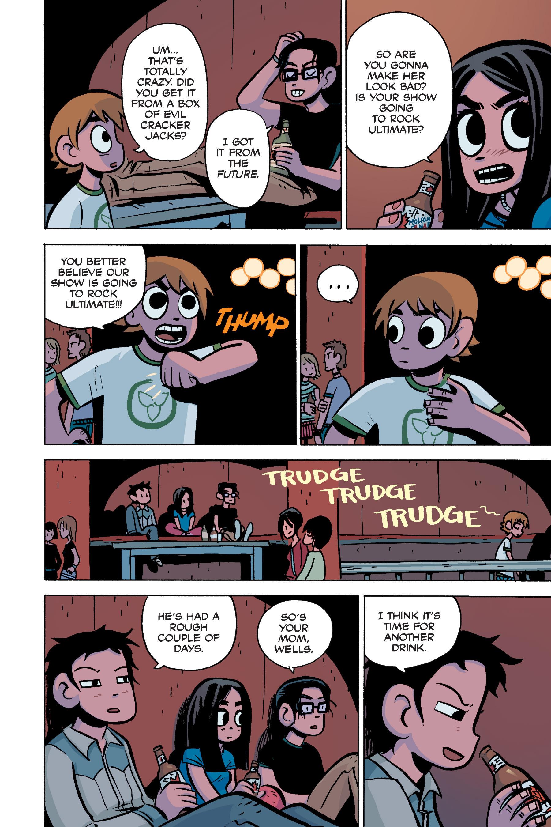 Read online Scott Pilgrim comic -  Issue #3 - 101