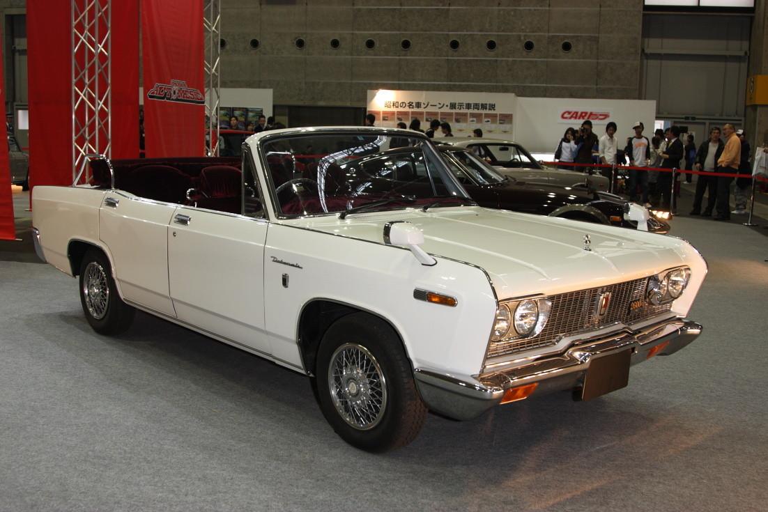 Mitsubishi Debonair, A30, A31, A32, A33, JDM, japoński klasyk, classic, japanese, stary, samochód, cabrio, convertible, kabriolet, 三菱, 日本車, クラシックカー